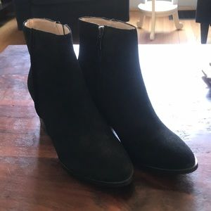 Brand new French Connection suede boots. Size 7.5